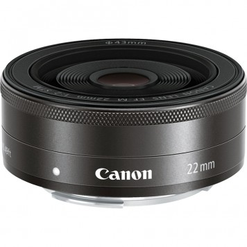 canonEF-M 22 mm f2 STM